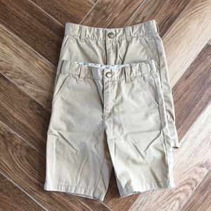 Gymboree prep fit khaki shorts